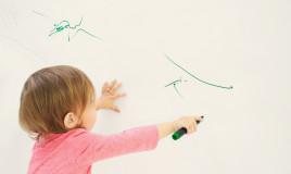 lavare pennarello muro