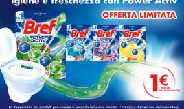 Prenditi cura del tuo WC con Bref Power Activ