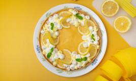 come decorare crostata limone, come decorare crostata, decorazioni crostata limone