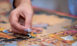 incollare puzzle consigli