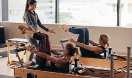 Lezione di pilates