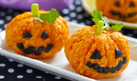 halloween, rice krispies, come si modella