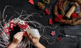 decorazioni natalizie 2020, fai da te, progetti