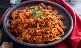 verza stufata, ricetta salentina, cucina regionale