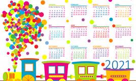 calendario 2021 da stampare bambini, calendario 2021 da stampare, calendario bambini