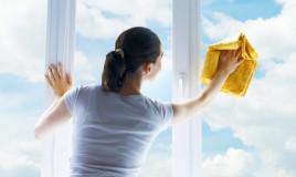 come pulire finestre, prodotti pulizia ecologici, henkel