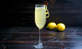 french 75 cocktail, ricetta, champagne