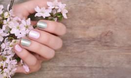 nail art, primavera 2021, decorazioni unghie