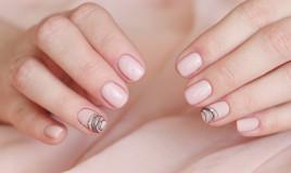 spider gel, nail art, decorazione unghie