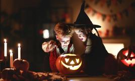 Caccia al tesoro notturna per Halloween