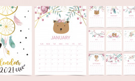 calendario gennaio 2021 da stampare, calendario gennaio 2021, calendario 2021