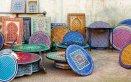 mosaico tavolino tesserine ceramica piastrelle