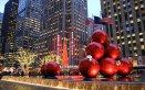 Manhattan capodanno neve inverno città