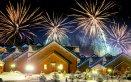 Splugen Svizzera capodanno San Silvestro inverno vacanze neve sci fuochi d'artificio