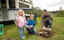 vacanza papà bambini neonati fotografie giochi