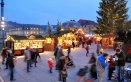 mercatino di Natale abete neve albero