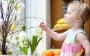 idee per bambini pasqua albero uova