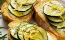 bruschette estive di zucchine