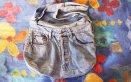 cucito creativo borse, borse jeans riciclati