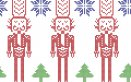 disegni natale punto croce, schemi punto croce natale, disegni punto croce natalizio