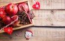 cesti natalizi fai da te, cassettina legno
