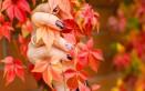 nail art, decorazione unghie, autunno