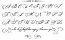 bella calligrafia modelli, bella calligrafia alfabeto