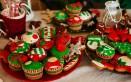 decorazioni natalizie pasta di zucchero, cake design natale, pasta di zucchero natale