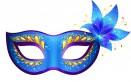 maschere di carnevale colorate, maschere di carnevale da stampare