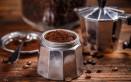 pulizia, moka, caffettiera