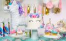 festa a tema unicorno, decorazioni a tema unicorno fai da te, decorazioni unicorno