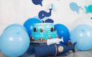 torte a tema mare bambini, torte a tema mare decorazioni, torte a tema mare pasta di zucchero