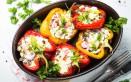 peperoni ripieni vegetariani, come si fanno, ripieno