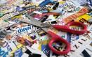 come rivestire oggetti con giornali e colla vinilica, decoupage