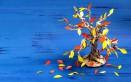 albero carta fai da te, come fare albero carta