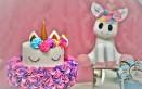 torta finta unicorno fai da te, torta finta unicorno, torta finta unicorno tutorial