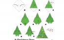 origami albero natale