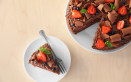 come decorare torta cioccolato, decorazioni torta cioccolato, decorazioni cioccolato