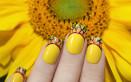 nail art, giallo, 8 marzo