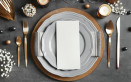 apparecchiare la tavola, elegante, cene di prappresentanza