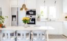 pulizia, cucina, legno