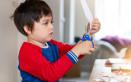 insegnare usare forbici