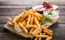 patatine fritte, salsa ketchup, calorie