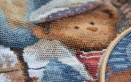 punto croce orsetti, schemi punto croce orsetti, punto croce orso
