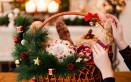 cesto natalizio covid fai da te, cesto natalizio fai da te