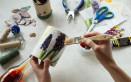 come decorare barattoli latta decoupage, decorare barattoli latta, decoupage latta