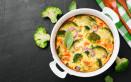 verdure, gratin, besciamella