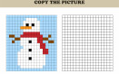 pixel art inverno, coding inverno