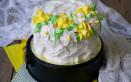 torte festa donne decorate con panna, torte festa donna, torte decorate panna