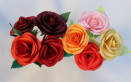 rose carta realistiche